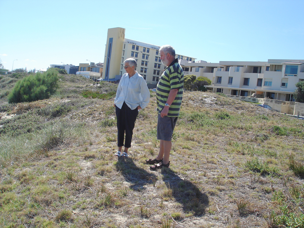 'Before' Bryan Way project started 2006