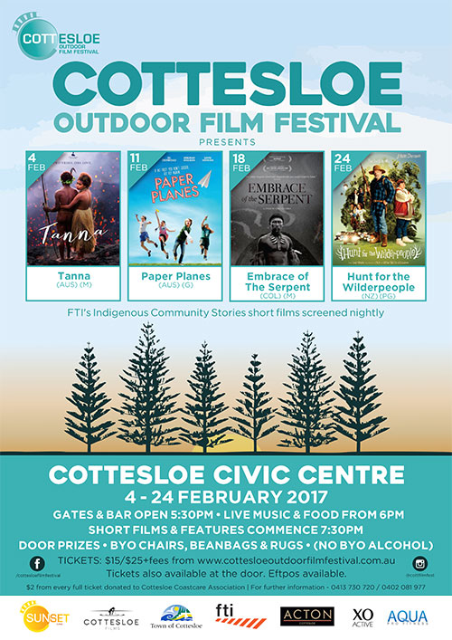 Cottesloe Outdoor Films Poster