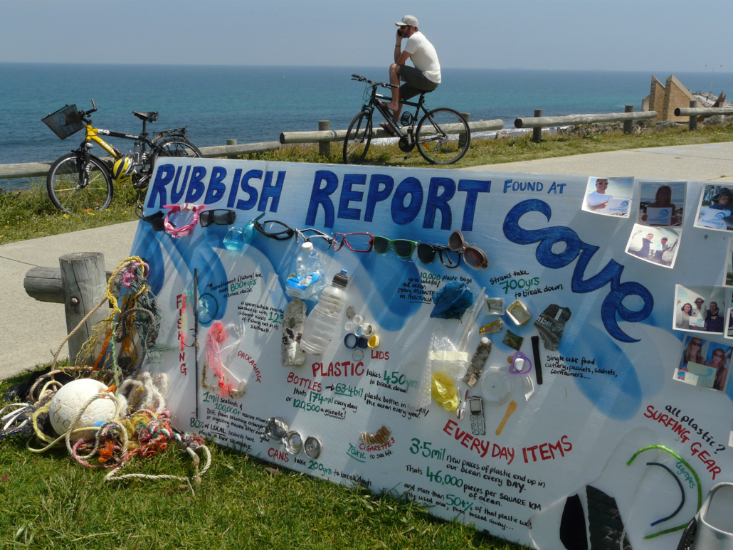 Cove rubbish report