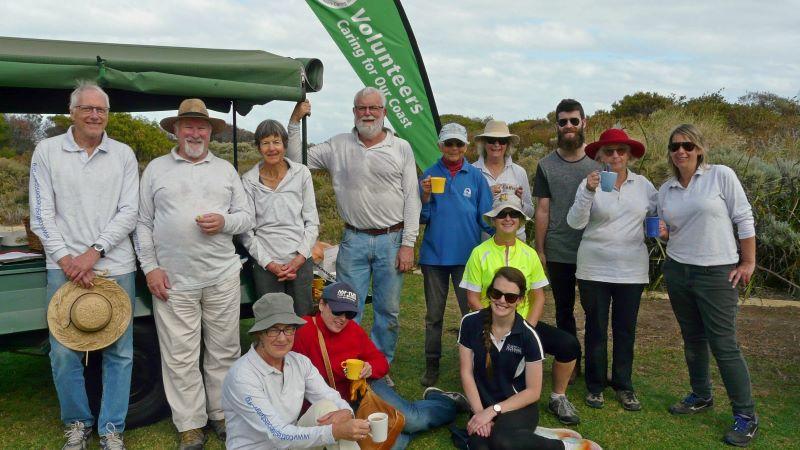 Grant Marine Park Cottesloe Castcare volunteers 2019