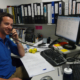 Alex at his desk – Town of Cottesloe