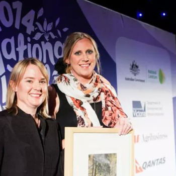 Kate wins National Landcare award!