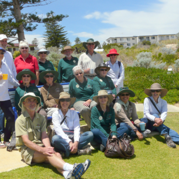 Kings Park Master Gardeners come to visit