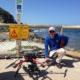Craig Wilson (Perth Region NRM Coastal & Marine co-ordinator) with Ioniq UAV